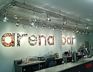Arena Bar - Simon Creed